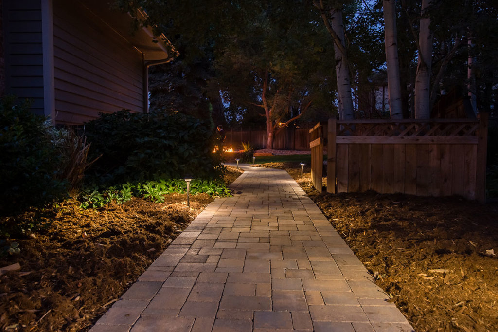 Patio Stone Design Paver Path Led Lights ...