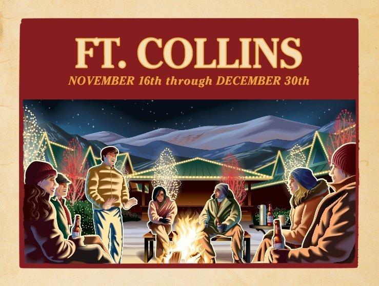 Fort Collins Brewery Lights Budweiser