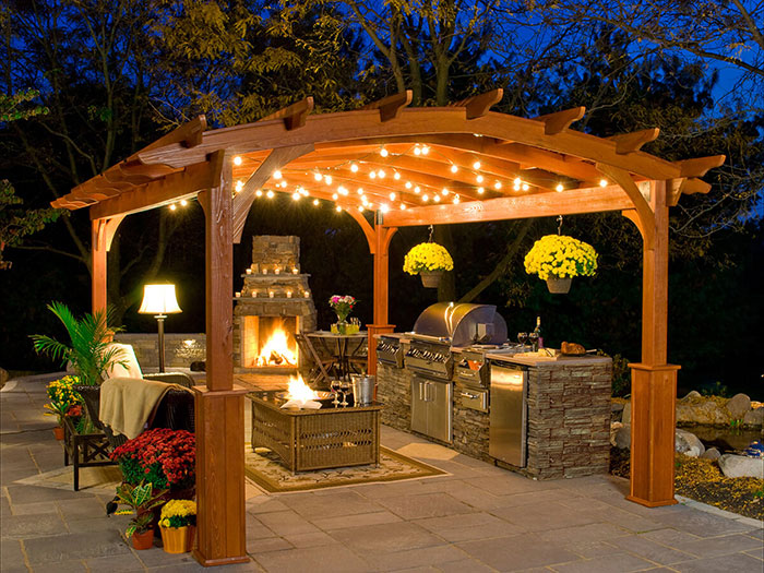 5 Outdoor Kitchen Ideas For Yards Large Small All Terrain